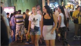Midnight in Pattaya Walking Street