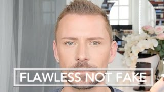 LOOK FLAWLESS - NOT FAKE - MAKEUP TUTORIAL (Beginner Friendly)