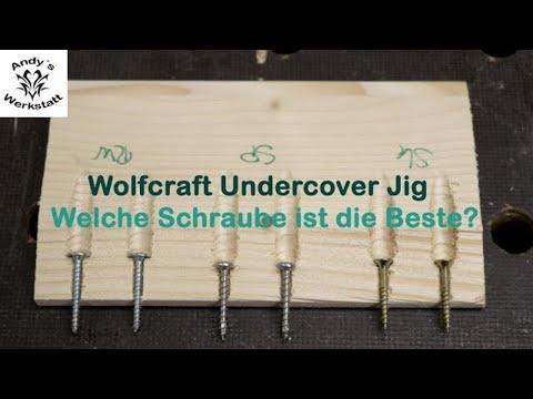 Wie geht das? Welche Schrauben? Hartholz? Undercover Jig von Wolfcraft richtig nutzen Teil 2
