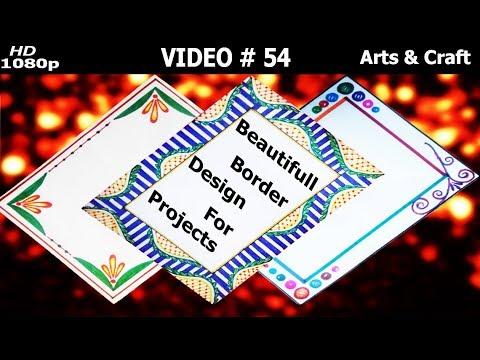 Beautiful Project Design Video 54 Arts Craft