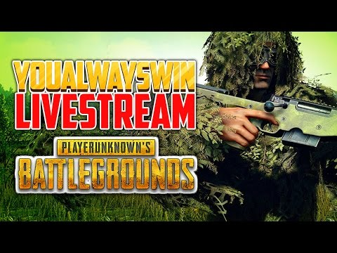 Playerunknown's Battlegrounds Live 💀 YAW Live Stream (Apr 27, 2017)
