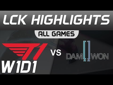 SKT T1 vs DWG - LCK mùa xuân 2020
