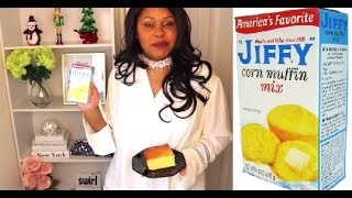 The BEST DAMM JIFFY Cornbread Recipe !!!!
