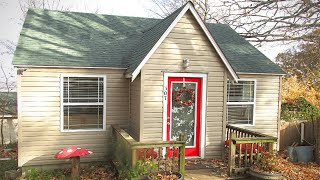 Very Cute Little Tiny SW MO Cottage With A Perfect Bedroom For Sale $50K