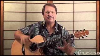 Come Monday Acoustic Guitar Lesson - Jimmy Buffett