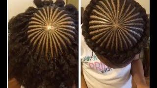♡ TnC - 33 ♡ Halo/Crown Braid On Kids Natural Hair