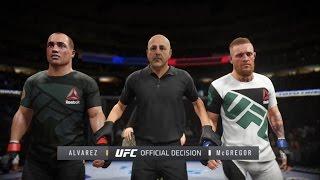 UFC 2 - Эдди Альварес против Конора Макгрегора