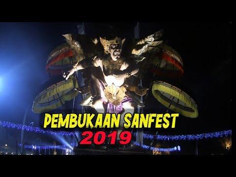 PEMBUKAAN SANFEST ( Sanur Festival ) 2019