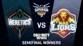 HERETICS KFC vs MAD LIONS E.C. | Superliga Orange CoD | SEMIFINAL DE WINNERS