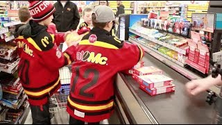 BV Atom 3 Black Hockey Hero Giving Back Birthday Party Bags