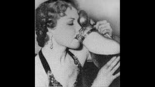 Jimmie Gordon Beer Drinking Woman (1941)