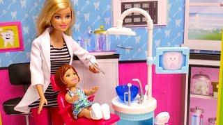 Barbie Girl Goes to Barbie Doctor DENTIST!