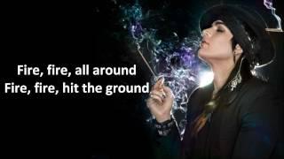 [RE-UPLOAD] Adam Lambert- Crawl Thru Fire - Studio LYRICS