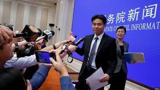 VOA连线(叶兵):北京就香港局势开记者会 力挺港府谴责暴力