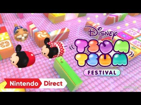 《迪士尼 TsumTsum節日》2019年在Switch平台推出