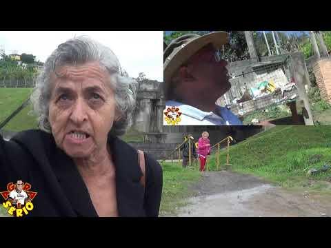 Dona Paulina diz: Que não é acumuladora e sua engenharia é das cavernas