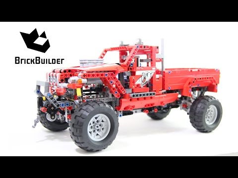 Vidéo LEGO Technic 42029 : Le Pick up customisé
