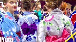 ポーランド日本祭り  [海外親日国まとめインタビュー] Japanese Festival In Poland  (Matsuri)!