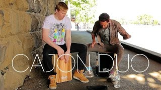 Cajon Jam: Matthew & Ross