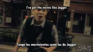 Drey K - Moves Like Jagger (Maroon 5) HD Video Subtitulado Español English Lyrics