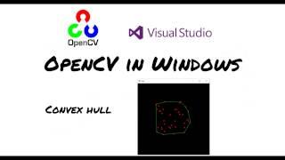 [OpenCV in Windows] Running convex hull sample