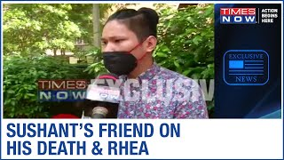 Sushant Singh Rajput's friend Samuel Haokip speaks exclusively to Time Now debunking the 'depression' link in his death case. He maintains that Sushant was full of life he was not at all depressed and Sushant's suicide seems unbelievable.  Samuel says, 'I was there with him till June-July 2019 and Rhea was also there, we used to chill. But there was no such medication. If there was anything it was just regular vitamins and pills for regular headaches. I spoke to Sushant's bodyguard. He told me a few things about how things went bad after Sushant returned from Italy. I don't know whom to believe'.  Subscribe to Times Now | Click Here ► http://goo.gl/U9ibPb