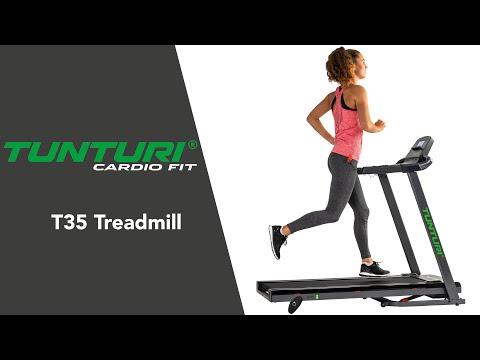 Promovideo: Běžecký pás TUNTURI Cardio Fit T35