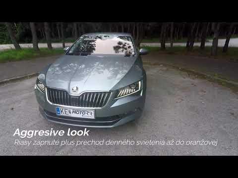 MotoRR Diag - Škoda Superb 3 - Aggressive look