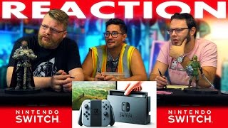 Nintendo Switch First Look REACTION!! New Console