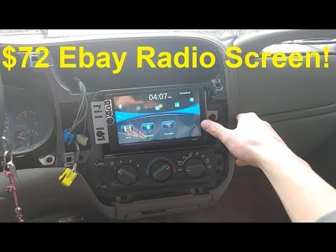 Installing And Testing The Cheapest Radio Screen On Ebay
