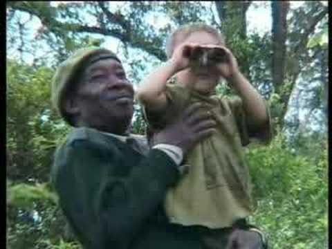 Kinderen en Familie op Safari in Afrika