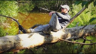 Рыбалка с ночевкой 24 часа! Еда на костре! Настоящий отдых на красивой речке!