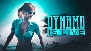 FINALLY CONQUEROR | PUBG MOBILE LIVE WITH DYNAMO + HYDRA SQUAD | SQUAD RUSH GAMEPLAYS