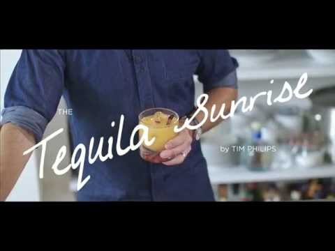 World Class Classic Cocktails at Home with Tim Philips - Tequila Sunrise