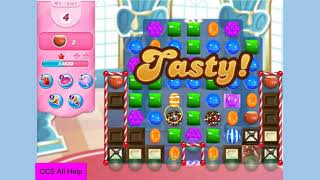 Candy Crush Saga Level 3837 NO BOOSTERS Cookie