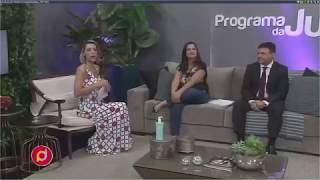 Entrevista no Programa da Jú – TV Maringá Band - 08/02/2018