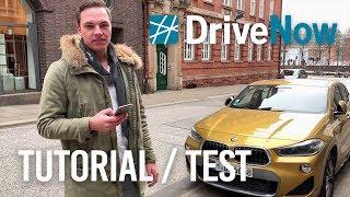 DriveNow Anleitung / Test mit dem BMW X2 - So GUT sind die CarSharing Autos!