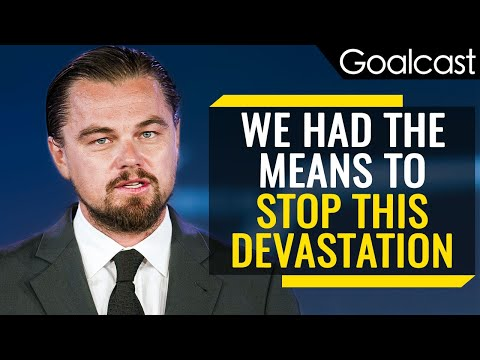 Leonardo DiCaprio's Moving Speech on Climate Change