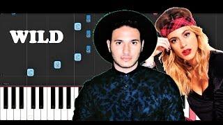 Jonas Blue   Wild Ft. Chelcee Grimes, Tini, Jhay Cortez (Piano Tutorial)