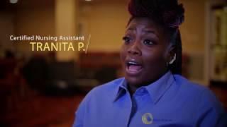 Tranita P., CNA - Caregiver Testimonial