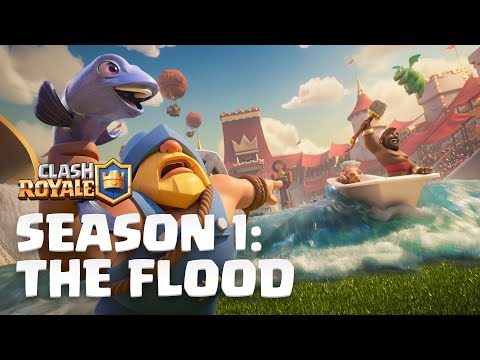 , title : 'Clash Royale Season 1: The Flood! 🌊 New Update Reveal'