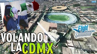La ciudad de México esta fea en el nuevo Microsoft Flight Simulator 2020   Gameplay en ULTRA 3K