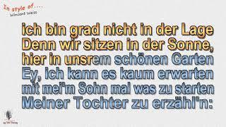Wincent Weiss   Kaum Erwarten   Instrumental Und Karaoke By Rolf Rattay