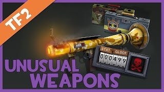 ★ NEW Gun Mettle TF2 Unusual Weapons Showcase - ALL EFFECTS! #TFGO