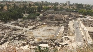 preview picture of video '[Israel 3D] Lower Galilee (5-1) Beit Shean National Park Part3'