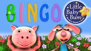 BINGO | Nursery Rhymes | From LittleBabyBum! | ABCs And 123s