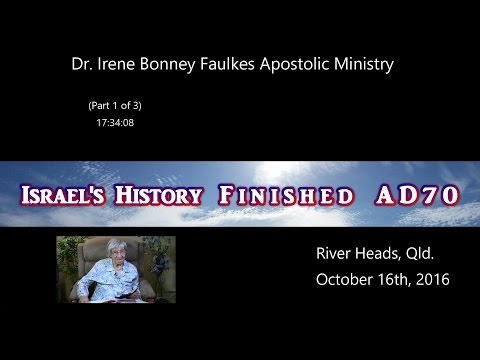 (Part 1 OF 5) ISRAEL'S HISTORY TO O.T. FINISHED AD70