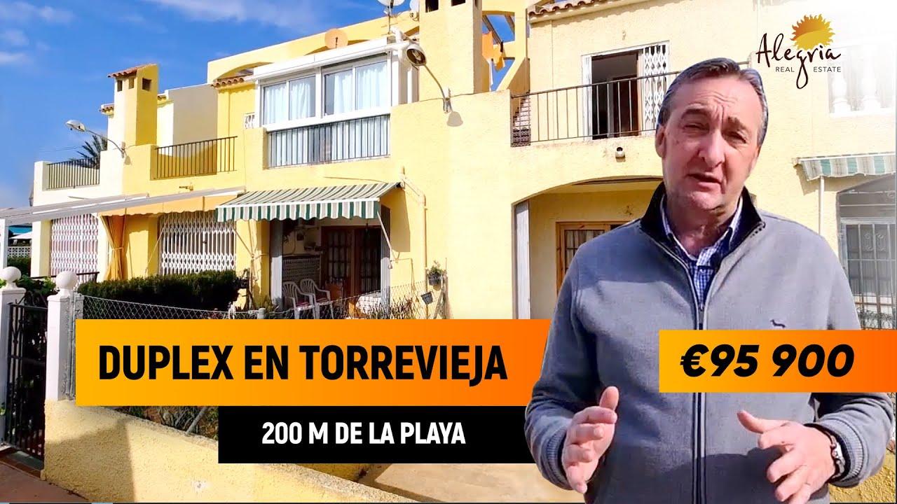 Duplex en Torrevieja.  Vivienda en España cerca de la playa. Agencia inmobiliaria Alegria
