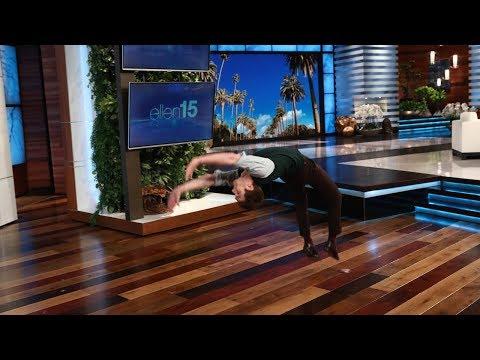Andrew Garfield Backflips for Charity
