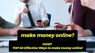 TOP 50 Ways to Make Money Online for $5